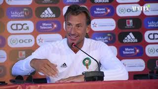 Hervé Renard : «j'espère que cette équipe du Maroc sera la première à battre le Cameroun»