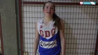 Flash Interview | Mariana Pires (Galitos Vs GD Gafanha / Sub-16 Fem.)