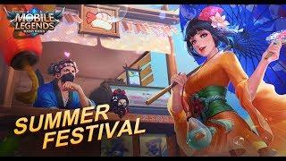 Mobile Legends: Bang Bang! Summer Festival Skins
