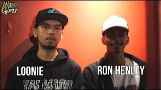 Loonie & Ron Henley LIVE interview on The Bounce (plus Quotables)