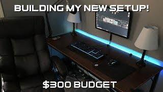 Building My $300 Budget Gaming Setup!