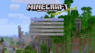 MATT OX PLAYS:Minecraft: Xbox One Edition