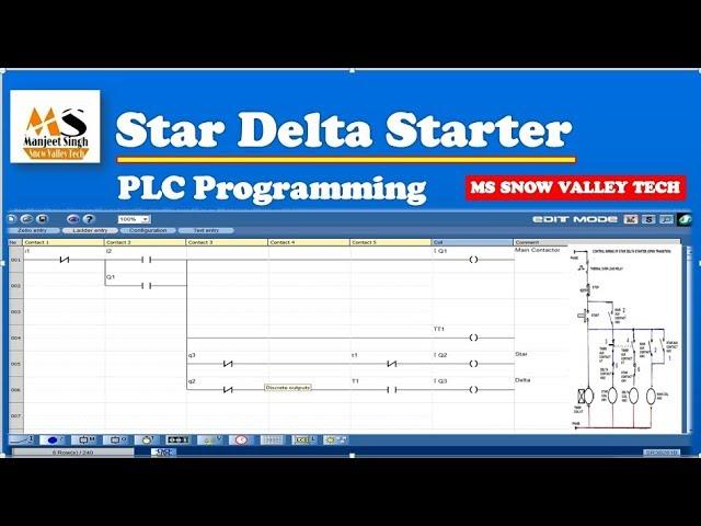 Download Star Delta Starter Ki Plc Programming À¤• À¤¸ À¤•à¤°à¤¤ À¤¹ Star Delta Ladder Logic In Zilo Softwear Youtube Youtube Thumbnail Create Youtube