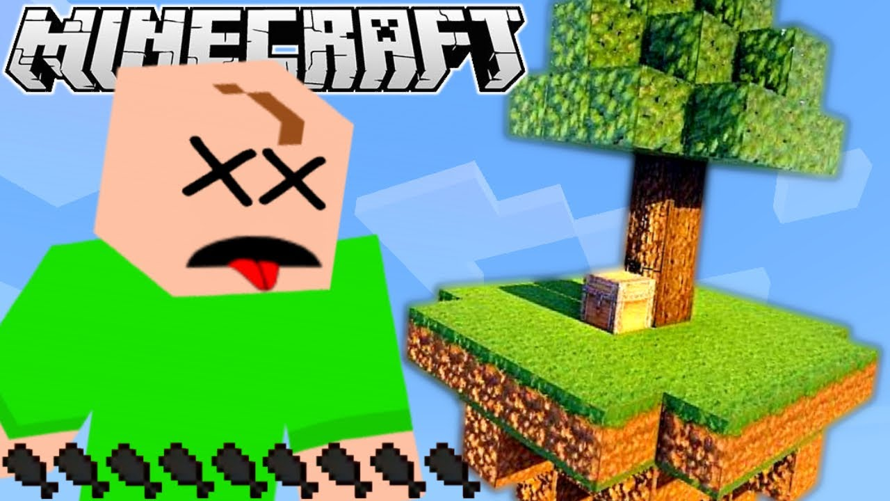The Frustrated Gamer - I STARVED TO DEATH! | Minecraft Skyblock