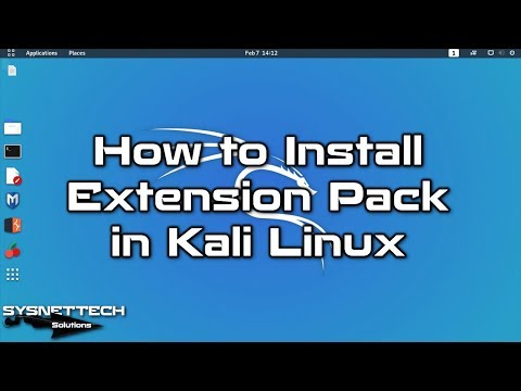 Ext Pack Setup Video