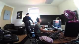 Purple Disco Machine // Studio Session w/ Boris Dlugosch