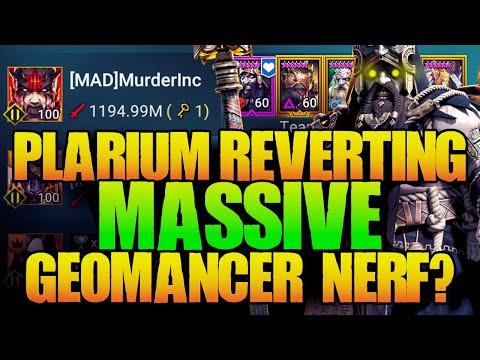 What Plarium Said in Response to Geomancer! Raid Shadow Legends
