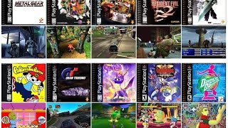 TOP 100 List BEST PS1 GAMES Of All Time Original Playstation 1 Console