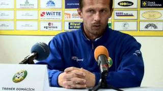 Tisková konference FK Baník Sokolov - FC Graffin Vlašim