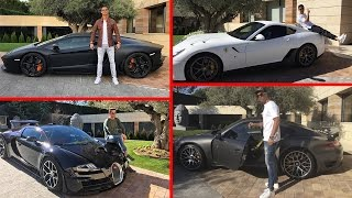 TOP 10 Los Autos Mas Caros y Lujosos de Cristiano Ronaldo
