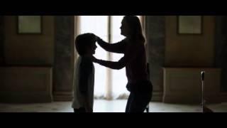 Leighton Meester kissing a little boy width=