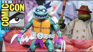 NECA TMNT Comic Con 2017 Display Reveal! Dimension X Collection! #SDCC2017