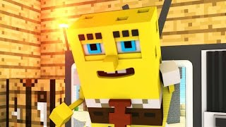 Spongebob Breaks the 4th Wall - Minecraft Animation