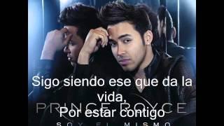Prince Royce Soy El Mismo Letra/Lyrics