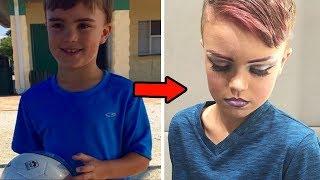 A transformação desse garoto de 8 anos deixou todo mundo chocado! INCRÍVEL!