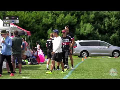 Video Thumbnail: 2019 Pro Championships, Men's Pool Play: New York PoNY vs. Washington D.C. Truck Stop