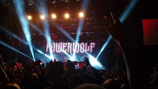 Powerwolf - Blessed & Possessed - live at Yotaspace, Moscow - 27.10.2017