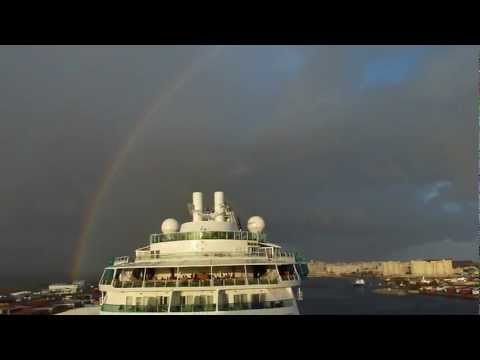 San Juan, Puerto Rico – Somewhere over a RAINBOW (as seen from Celebrity Summit 12.31.2011)