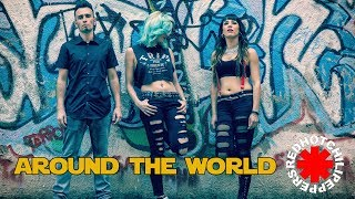 RED HOT CHILI PEPPERS - Around the World (Black Mamba Cover) RHCP  from Californication Album