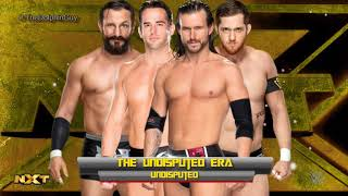 #NXT: The Undisputed Era 1st Theme - Undisputed (HQ + Arena Effects)