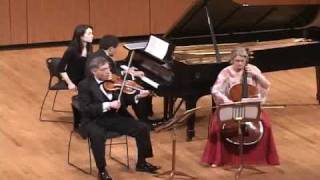 Bernstein Piano Trio 2nd movement