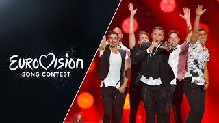 Nadav Guedj - Golden Boy (Israel) - LIVE at Eurovision 2015: Semi-Final 2