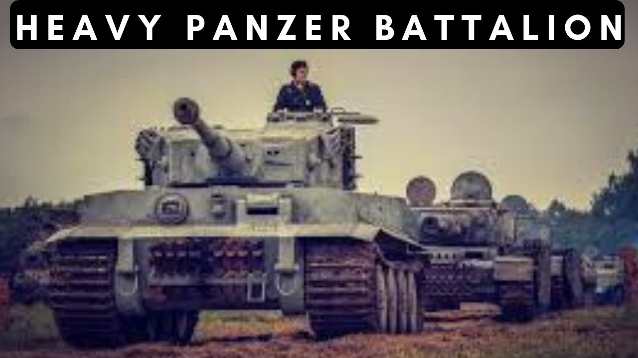 Heavy Panzer Battalions of the Wehrmacht (1942-1945)