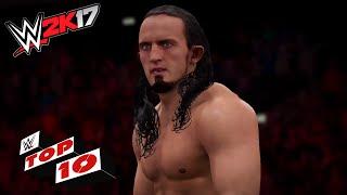 WWE 2K17 Top 10 saltos desde el stage