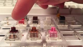 Kailh Speed Switches - Copper, Bronze, Pink Sound Test
