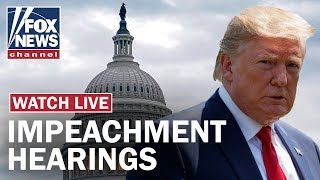Trump impeachment hearing Day 4