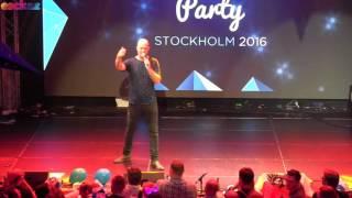 ESCKAZ in Stockholm: Amir (France) - Spanish version of J'ai cherché - Israeli Party