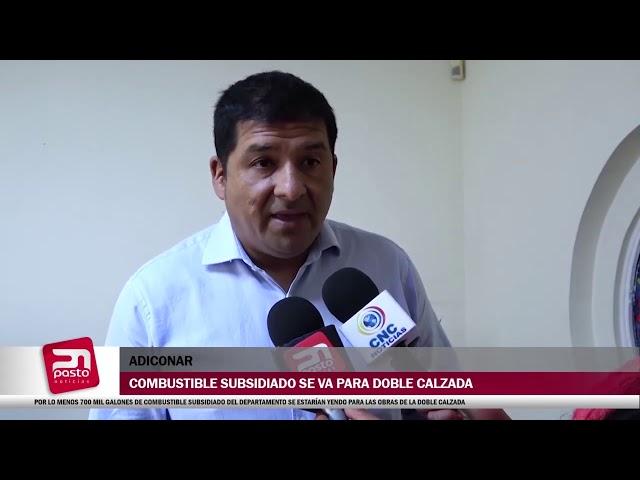 POR LO MENOS 700 MIL GALONES DE COMBUSTIBLE SUBSIDIADO DEL DEPARTAMENTO