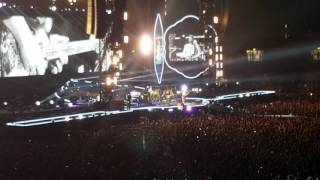 Coldplay - Heroes(David Bowie Cover) - Wembley Stadium 15/06/16