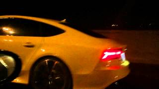 2015 Audi RS7 vs 2009 C6 Corvette Z06