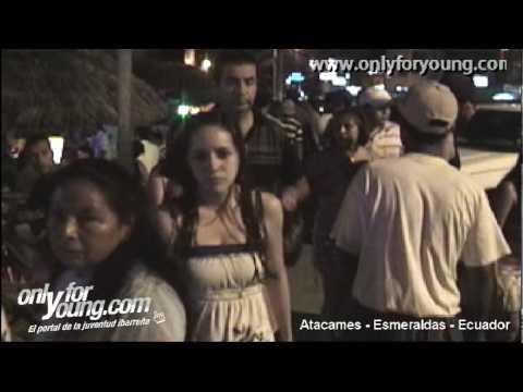 Onlyforyoung.com en la Navidad 2009 Atacames Ecuador Parte 2 de 4
