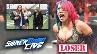 REAL REASON FOR ASUKA'S LOSING STREAK + WHY CARMELLA IS STILL CHAMP (WWE SMACKDOWN)