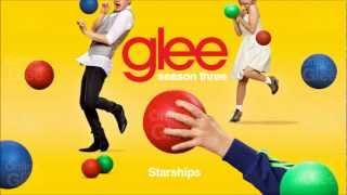 Starships - Glee [HD Full Studio]