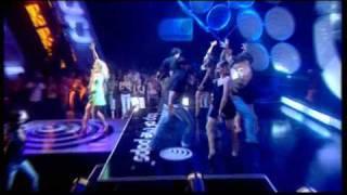 Emma Bunton Crickets sing for Anamaria Live @ TOTP 11 06 04