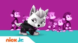PAW Patrol: Mission PAW | Sweetie's 'The Girl w/ the Golden Throne' Song | Nick Jr.