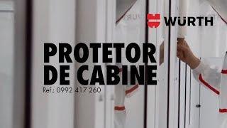 Würth - Protetor de cabine de pintura 4 em 1