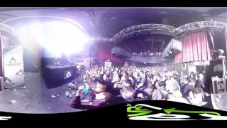 Sam Paganini raVR 360 video @ Paradox