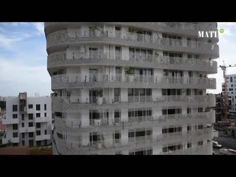 Video : Immobilier de bureau : Yasmine Signature présente son projet de la Tour Végétale Jasmin