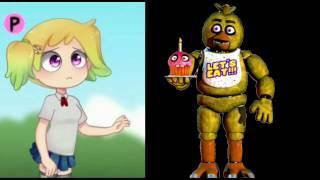 Fnafhs vs Fnaf - personajes