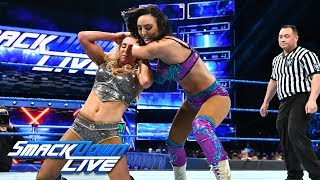 Charlotte Flair vs. Peyton Royce - Money in the Bank Qualifying Match: SmackDown LIVE, May 8, 2018