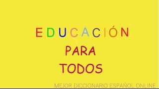 El mejor diccionario español online| Video Educativo