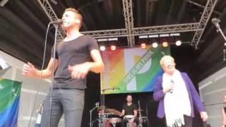 Compilatie Optreden Sjors van der Panne Vondelpark 2017