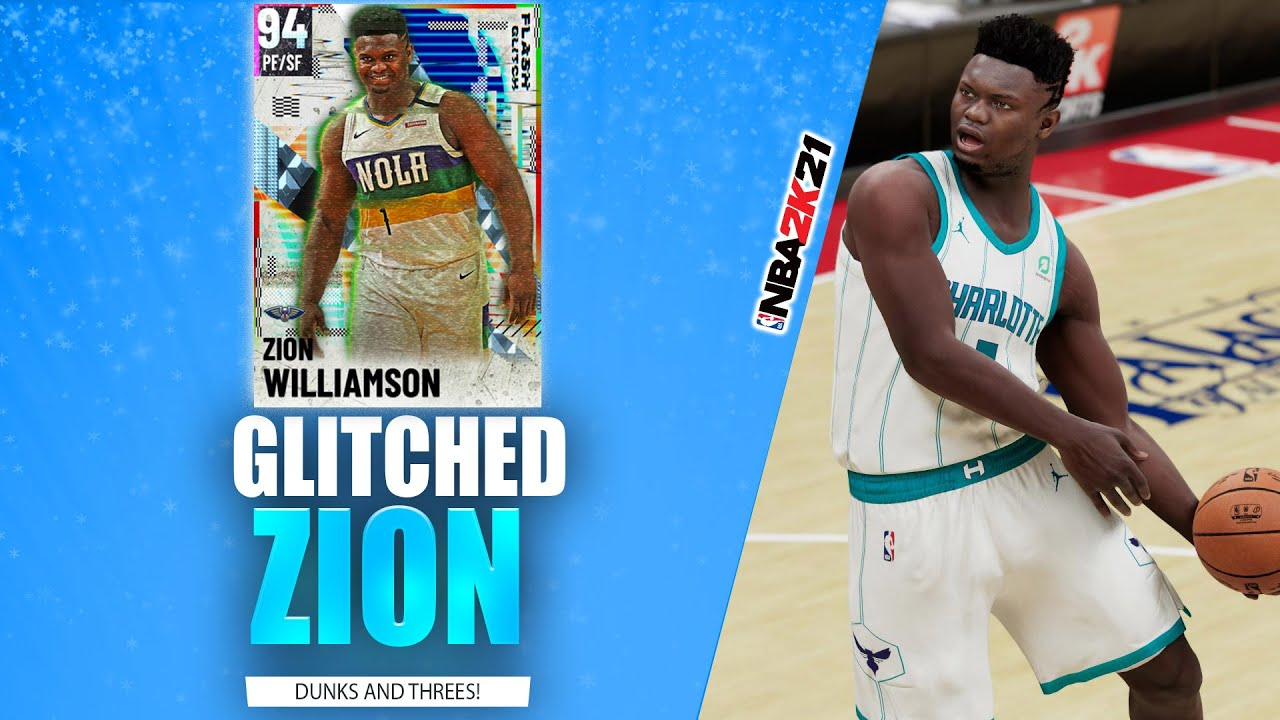 Bud22089 - Glitched Diamond Zion Williamson Invades Triple Threat Online! NBA 2K21 MyTeam