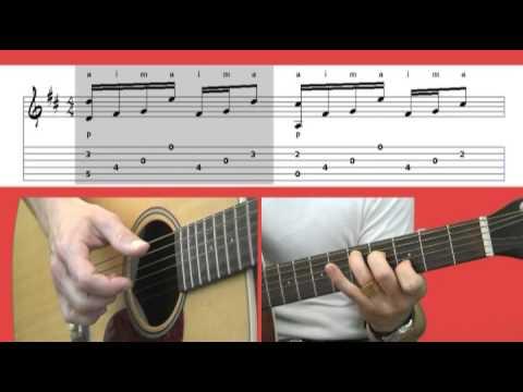 Comment jouer Petite Marie de Francis Cabrel à la guitare