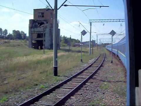 №1 Поездка на поезде Train view