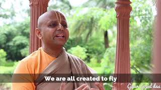Growth begins at the end of the Comfort Zone by Gaur Gopal Das